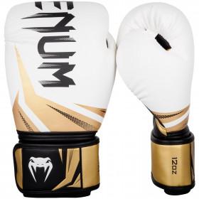 Venum Challenger 3.0 Boxing Gloves - White/Black-Gold