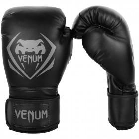 Venum Contender Boxing Gloves - Black/Grey