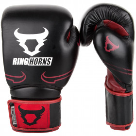Ringhorns Destroyer Boxing Gloves - Black/Red