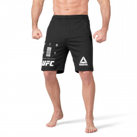 Short UFC Fan Gear - Noir