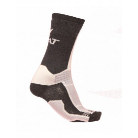Paire de Chaussettes Techniques Rivat - Noir/Blanc/Gris