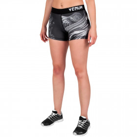 Venum Phoenix Compression Shorts - Black/White - For Women