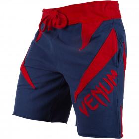 Venum Jaws Cotton Shorts - Navy Blue