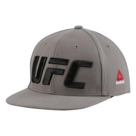 Casquette Reebok UFC Flat Peak - Gris