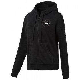 Sweatshirt Femme à zip intégral UFC - Noir