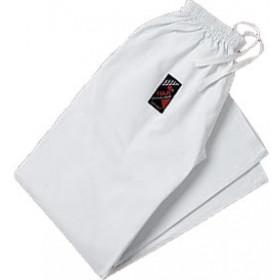 Pants for kimono - White – Lower leg section wide