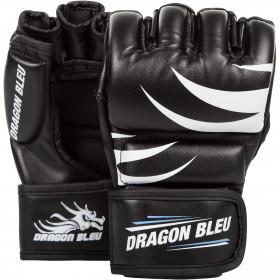 Gants de MMA Dragon Bleu - Noir