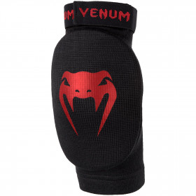 Venum Kontact Elbow Pads - Black/Red