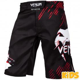 Venum Contender Kids Fightshorts - Black/Red