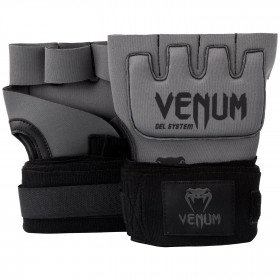 Venum Kontact Gel Glove Wraps - Grey/Black