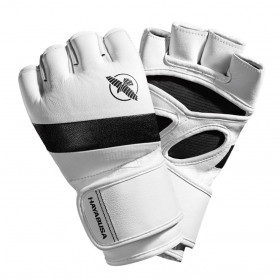Hayabusa T3 MMA Gloves - White/Black