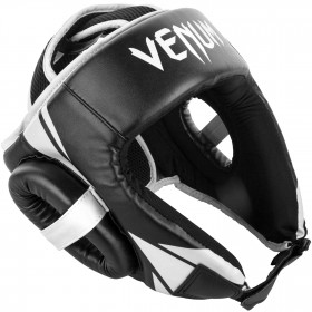 Venum Challenger Open Face Headgear - Black