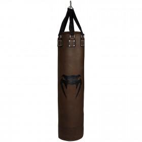Venum Vintage Heavy Bag - Brown - Filled
