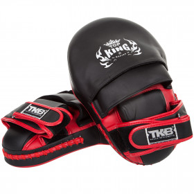 Top King Kick pads  Extrem - Black / Red