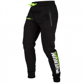 Venum Training Camp Jogging Pants - Black/Neo Yellow - Exclusive