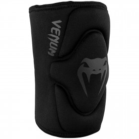 Venum Kontact Gel Knee Pad - Black/Black