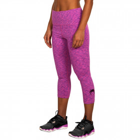 Venum Heather Legging Crops - Heather Pink