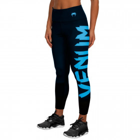 Venum Giant Leggings - Black/Cyan