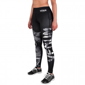 Venum Phoenix Leggings - Black/White - For Women