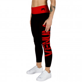 Venum Power Leggings - Black/Red - For Women
