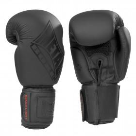 Gant de boxe Noir Mat