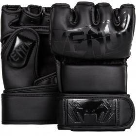 Venum Undisputed 2.0 MMA Gloves Semi Leather-Matte/Black