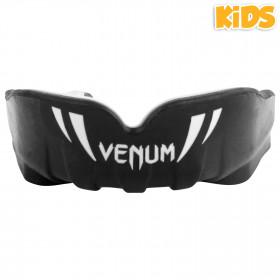 Venum Challenger Kids Mouthguard-Black/White