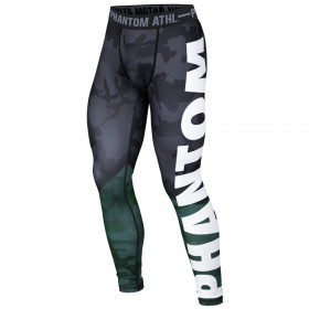 Pantalon de compression Phantom Athletics Domination Camo/Vert