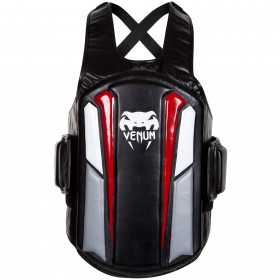 "Venum Elite ""Body Protector"" Shield - Black/Ice/Red"