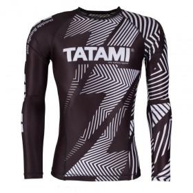 Rashguard Tatami manches longues IBJJF - Blanc