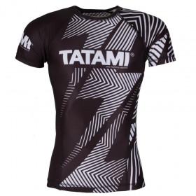 Rashguard Tatami manches courtes IBJJF - Blanc
