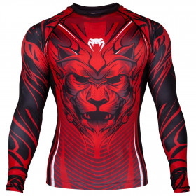Venum Bloody Roar Rashguard - Long Sleeves - Red