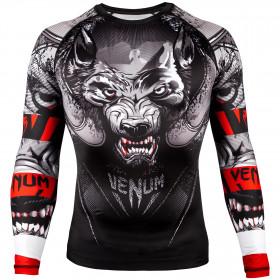 Venum Werewolf Rashguard - Long Sleeves - Black/Grey