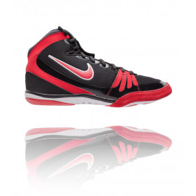 Chaussures de lutte Nike Freek - Noir/Rouge/Blanc