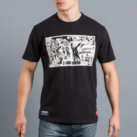 T-shirt Scramble x Judge Dredd - Samurai