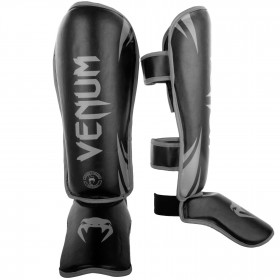 Venum Challenger Standup Shinguards - Black/Grey