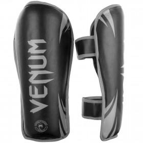 Venum Challenger Shinguards - Black/Grey