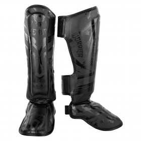 Venum Gladiator 3.0 Shinguards - Matte Black