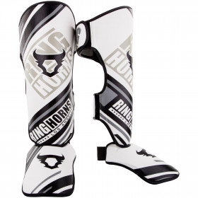 Ringhorns Nitro Shinguards Insteps - White