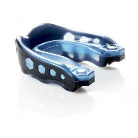 """Simple Mouth guard Shock Doctor """"Gel Max"""" - Adult-Black/Blue"""