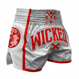 Short Muay thai Wicked One Silver