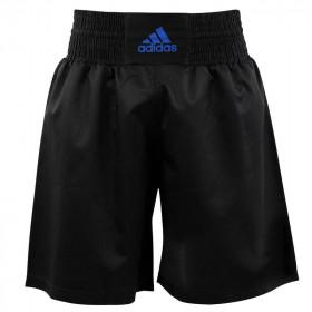 Short Multiboxe Adidas - Noir/Bleu
