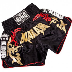 Short Muay Thai Buakaw noir - Top King
