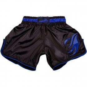 Short de Muay Thai Dragon Bleu - Black