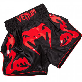 Venum Bangkok Inferno Muay Thai Shorts - Red Devil