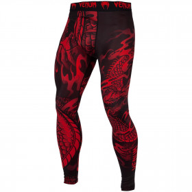 Venum Dragon's Flight Spats - Black/Red