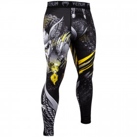 Venum Viking 2.0 Spats - Black/Yellow