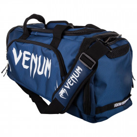 Venum Trainer Lite Sport Bag - Navy Blue/White