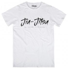 T-Shirt Tatami Jiu Jitsu Signature - Blanc