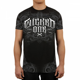 T-shirt Grind Wicked One - Noir